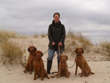 Henry, Troy, Breha & Saffy March 2011, Nairn